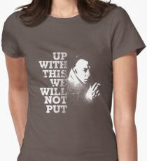 Up with this Women's Fitted T-Shirt