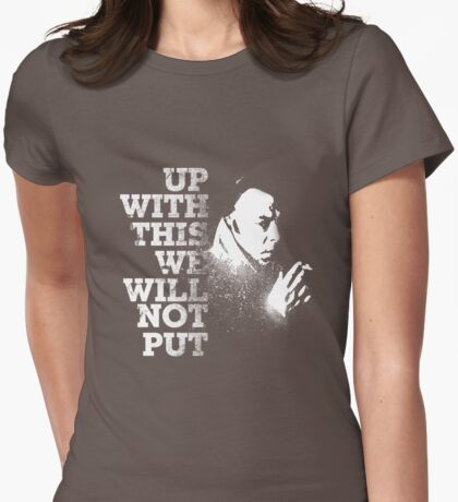Up with this Womens Fitted T-Shirt