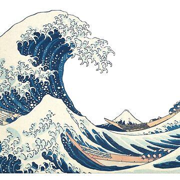 Tsunami - Japanese Waves by gravtee