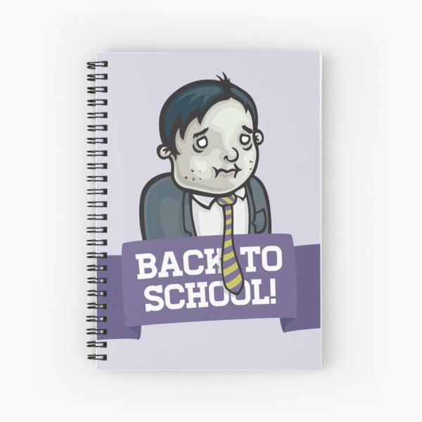Back To School! Spiral Notebook