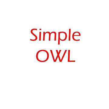 Simple Owl by DigitalStudio