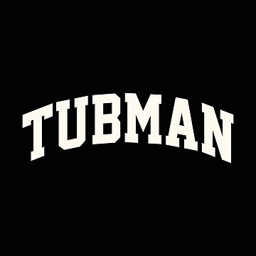 Tubman Floral White - Collegiate Style by PEK1787