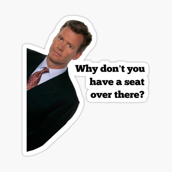 Chris Hansen Sticker