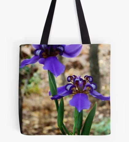 Neomarica caerulea – Walking Iris Tote Bag