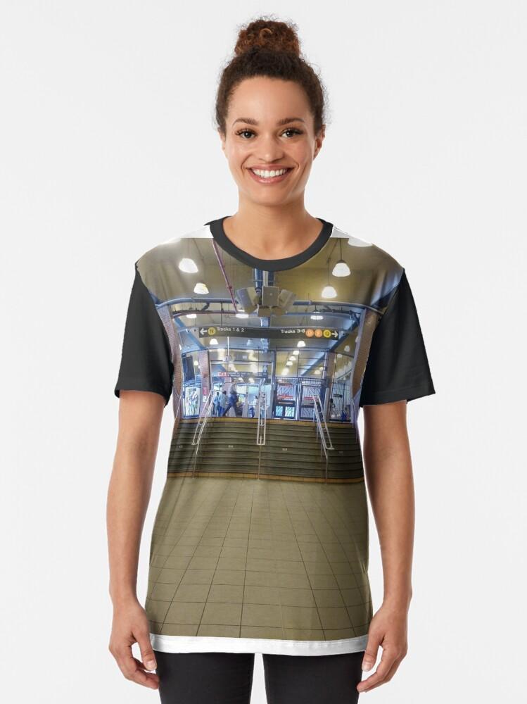 Alternate view of New York City, #New, #York, #City, #NewYork, #NewYorkCity Graphic T-Shirt