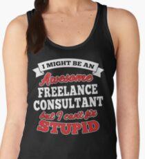 FREELANCE CONSULTANT T-shirts, i-Phone Cases, Hoodies, & Merchandises Women's Tank Top