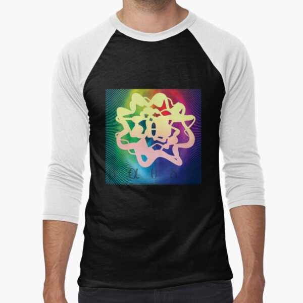 Frequency (Theta) - ohms' Custom Worms Armageddon Level Baseball ¾ Sleeve T-Shirt