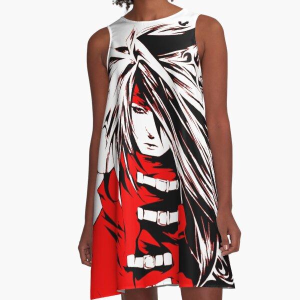 Vincent Valentine Final Fantasy  A-Line Dress