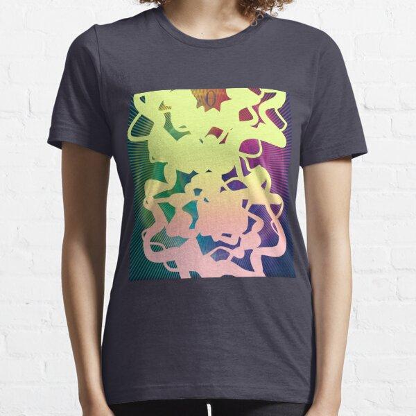 Frequency (Theta/Delta) - ohms' Custom Worms Armageddon Level Essential T-Shirt