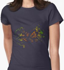 Infinity (07) - ohms' Custom Worms Armageddon Level Women's Fitted T-Shirt
