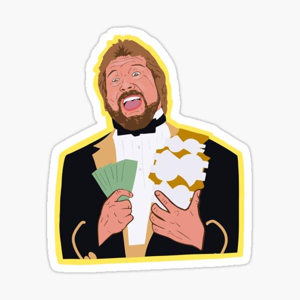Million dollar man Sticker