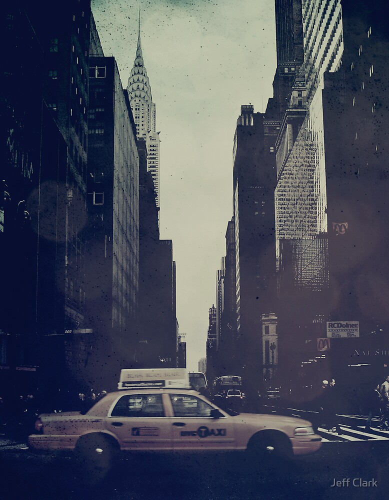 Vintage NYC by Jeff Clark