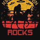 Kindergarten Rocks Bigfoot Unicorn UFO Back To School by cottonklub