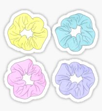 Scrunchie-Set Sticker