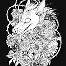 Chupacabra en las flores by Kellie Lamphere