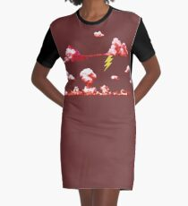 Red Storm - ohms' Custom Worms Armageddon Level Graphic T-Shirt Dress