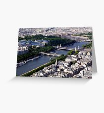 La Seine_Paris Greeting Card
