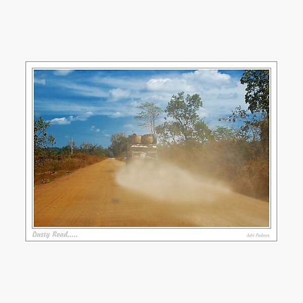 Dusty Road Photographic Print