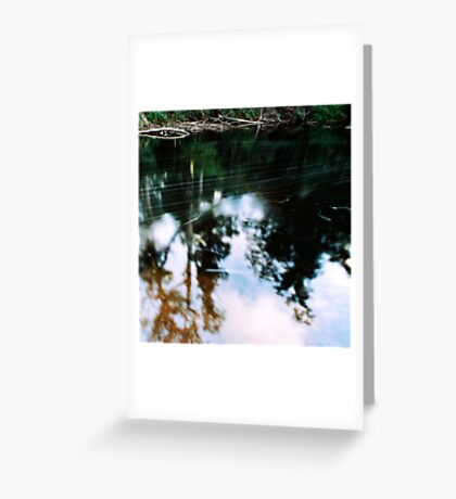 guardian of the river Greeting Card