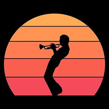Miles Davis - Trumpet Sunset by SQWEAR