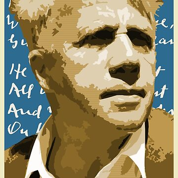 Robert Frost by SUCHDESIGN