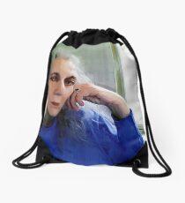 Tell Me More Drawstring Bag
