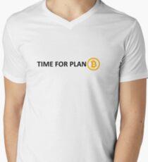TIME FOR PLAN B Men's V-Neck T-Shirt