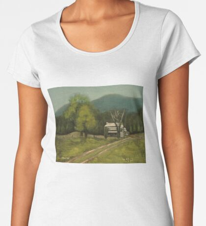 PHILIP'S PLACE, Pastel Painting, for prints and products Women's Premium T-Shirt