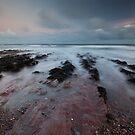 aberdour beach sunrise by codaimages