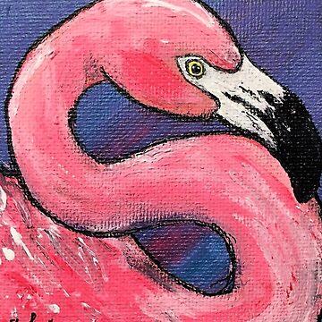 Pink Flamingo by Creatividad
