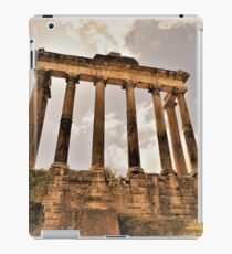 The Temple Of Saturn.............................Rome iPad Case/Skin