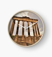 The Temple Of Saturn.............................Rome Clock