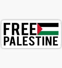 Free Palestine , Palestine will be free Sticker