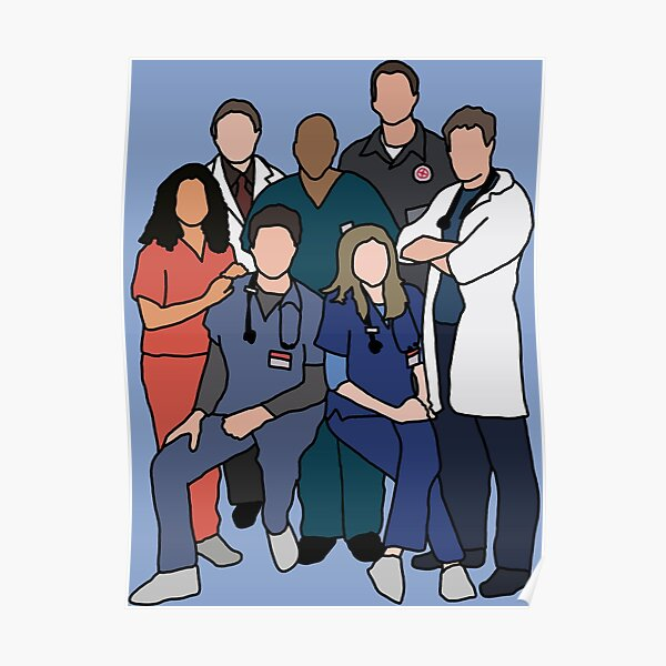 All the Scrubs Poster