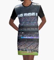 Portrait of a Hitter Graphic T-Shirt Dress