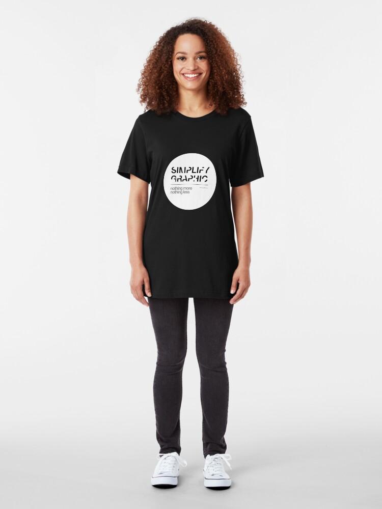 Alternate view of Simplify Slim Fit T-Shirt