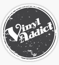Vinyl Addict 2 Sticker