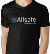 Mr Robot - Allsafe cybersecurity Men's V-Neck T-Shirt