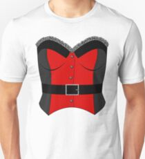 Red Corset Unisex T-Shirt