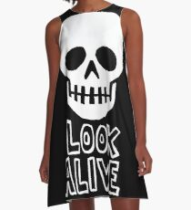 Look Alive A-Line Dress