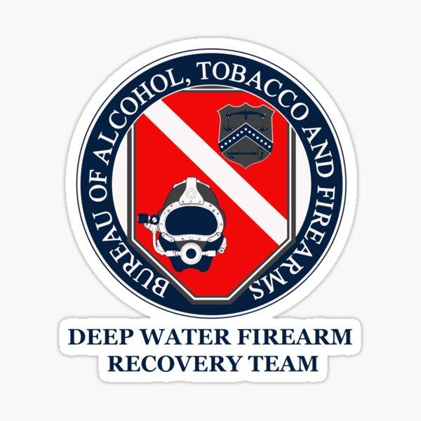 ATF Firearm Recovery Sticker