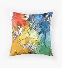 A Splash at the Mira Throw Pillow