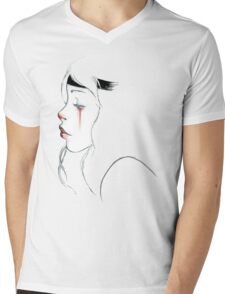 clown girl Mens V-Neck T-Shirt