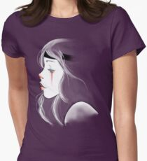 clown girl Womens Fitted T-Shirt