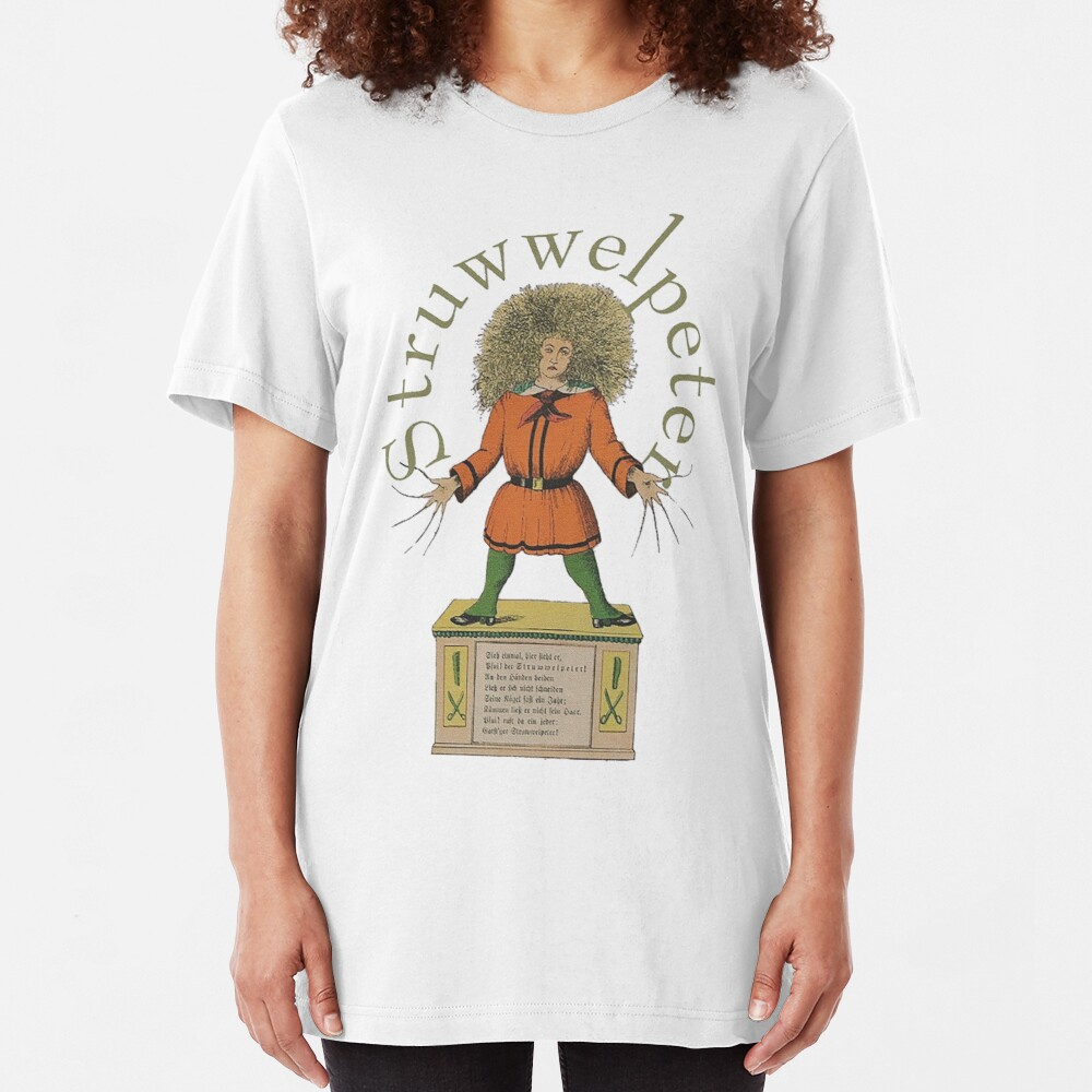 """""""Der Struwwelpeter""""...Slovenly Peter Slim Fit T-Shirt"""