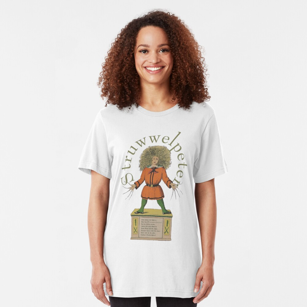 """Der Struwwelpeter""...Slovenly Peter Slim Fit T-Shirt"