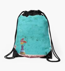 Table for One Drawstring Bag