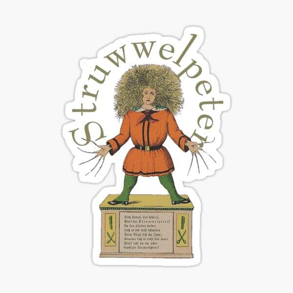 """""""Der Struwwelpeter""""...Slovenly Peter Sticker"""