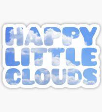 Bob Ross - Happy Little Clouds Sticker