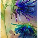 Semi-abstract Flowers by Johanne Brunet